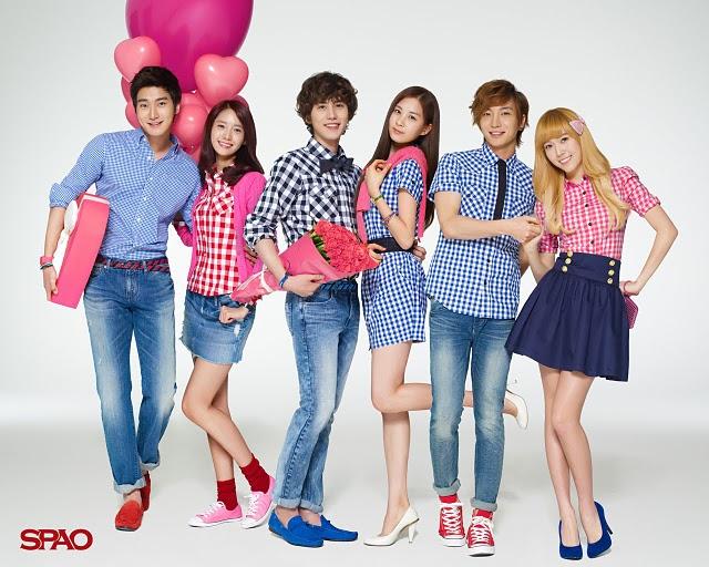 gambar terbaru dari Super Junior dan SNSD pada official website mereka